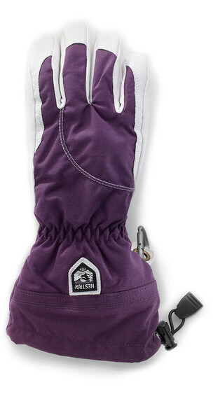 Hestra Heli Ski Female Glove Dark Plum/Off White (980020)